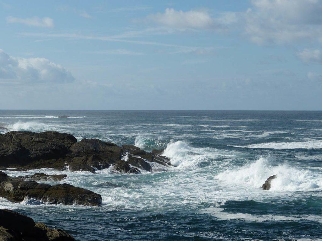la mer à  l'ile d'yeu