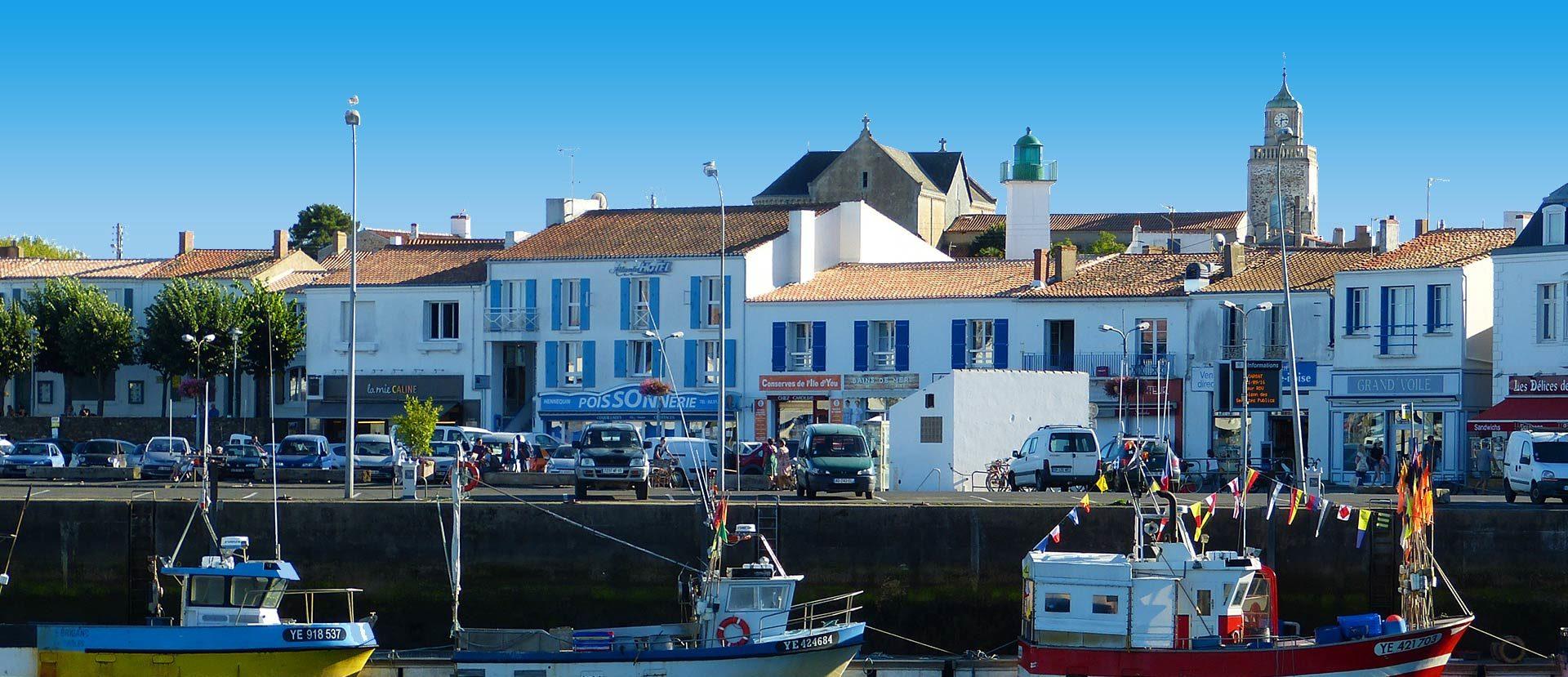 Atlantic h tel h tel 3 toiles sur l 39 le d 39 yeu port joinville - Hotel atlantic ile d yeu ...