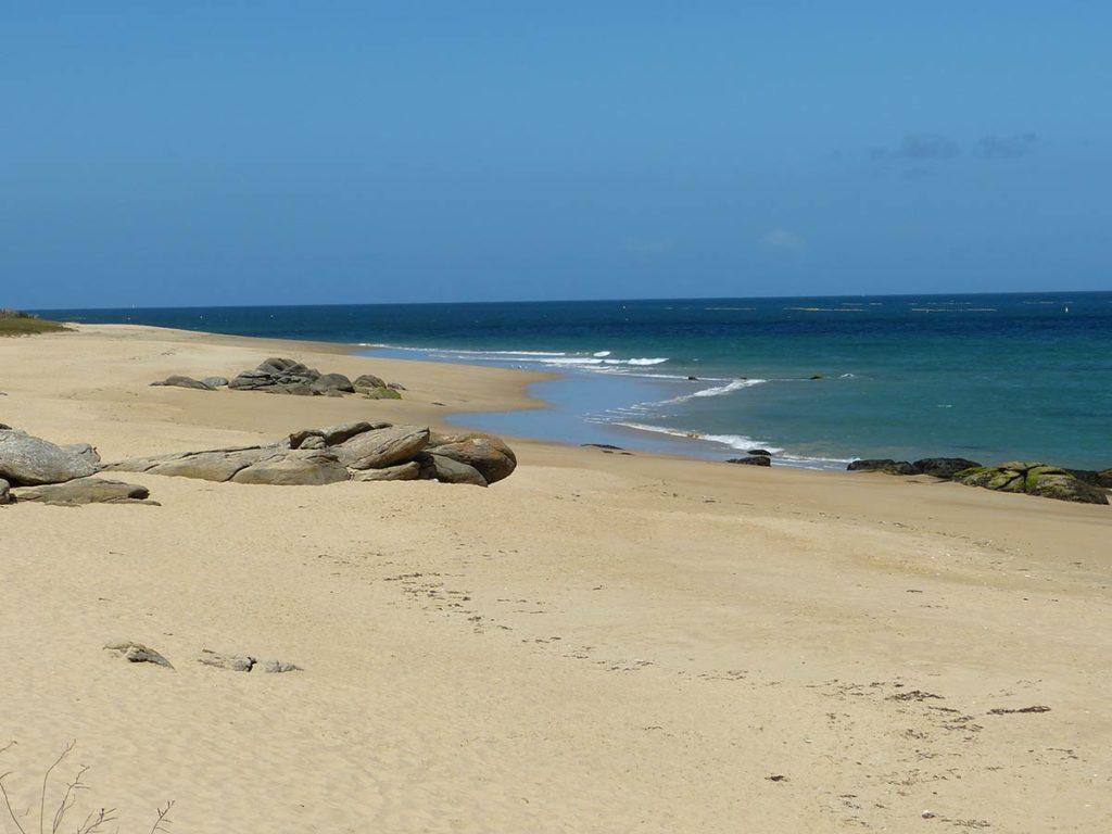 plage de l'ile d'yeu
